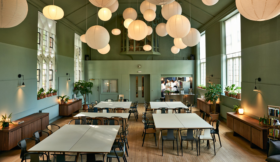 Ilse Crawford Designs Soup Kitchen Refettorio Felix